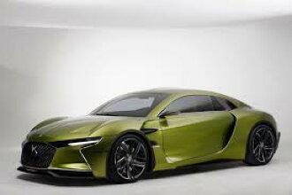 Norev 1:18 2016年日内瓦车展雪铁龙 DS E-紧张 2016年雪铁龙 DS E-时态概念高性能电动 GT 车压铸汽车模型由 Norev