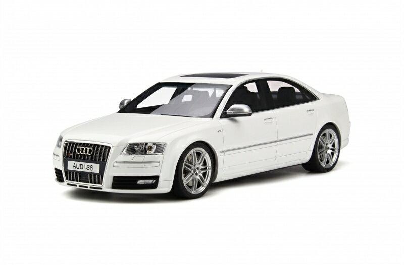 OttOmobile オットモビル 1:18 2008年モデル アウディ S8 D3 アイビスホワイト2008 Audi S8 D3 1/18 Ibis White by OttOmobile EUR