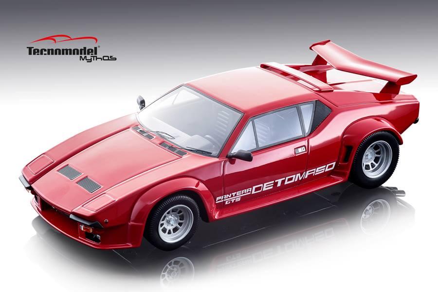 Tecnomodel テクノモデル 1/18 ミニカー レジン・プロポーションモデル 1982年モデル デ・トマソ パンテーラ GT51982 De Tomaso Pantera GT5 1:18 Tecnomodel