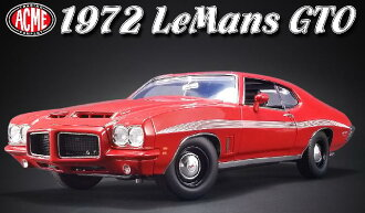 ACME 1/18 1972 model Pontiac Le Mans GTO 1972 Pontiac Lemans GTO 1/18 by ACME NEW