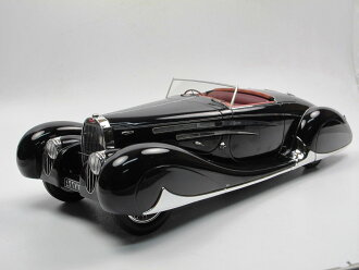 Matrix 1:18 1939年moderubugatti Type 57C BUGATTI-T57C VANVOOREN SPIDER 1939 1/18 Model Car by Matrix