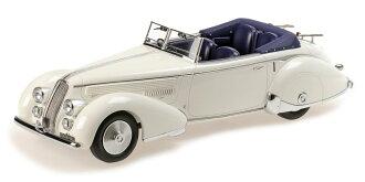 ミニチャンプス 1:18 1936 년 모델 ランチア 아 툴라 ティーポ 233 콜트 Lancia Astura Tipo 233 Corto year 1936 1:18 Minichamps