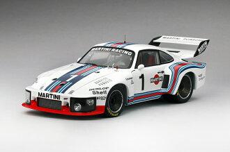 TSM 1/18 1976 년 Dijon 6 시간 우승 모델 포 르 쉐 935 No.1 Porsche 935 # 1 Martini Racing 1976 Dijon 6Hr Winner 1/18 Diecast Model by TSM