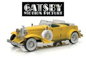 Greenlight グリーンライト 1:18 1934年モデル デューセンバーグ Model J イエロー 映画「華麗なるギャツビー」公式商品GREENLIGHT DUESENBERG II SJ CABRIOLET OPEN 1934 THE GREAT GATSBY MOVIE 2013 IL GRANDE GATSBY