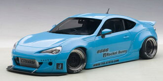 AUTOart 1:18로켓 바니 86 ROCKET BUNNY TOYOTA 86 1/18 by AUTOart