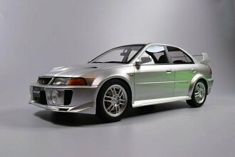 Tarmac Works 1:18 1998年型號三菱槍騎兵進化V銀子Tarmac Works 1/18 1998 Mitsubishi Lancer Evolution V