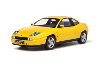 OttOmobile 1:18 1995年型号菲亚特跑车涡轮20V黄色1995 Fiat Coupe Turbo 20V 1/18 yellow by OttOmobile NEW