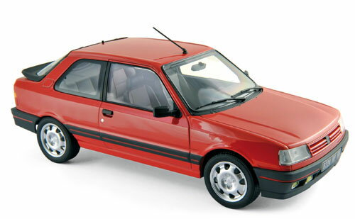Norev ノレヴ 1:18 1987年モデル プジョー 309 GTI レッドPEUGEOT - 309 GTI 1987 1/18 red by Norev