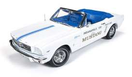 Autoworld オートワールド 1:18 1965.5年モデル フォード マスタング Indy 500 Pace Car1964 1/2 Ford Mustang Convertible 289 V8 Indy 500 Pace Car Limited to 1500pc 1/18 Diecast Model Car by Autoworld USA