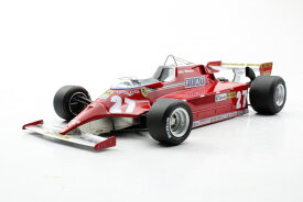 GP Replicas 1/18 ミニカー レジン プロポーションモデル 1981年シーズン フェラーリ F1 126CKFERRARI - F1 126CK SEASON 1981 1:18 GP Replicas