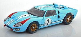 Shelby Collectibles 1/18 ミニカー ダイキャストモデル 1966年ルマン24時間 フォード GT40 MKII No.1FORD USA - GT40 MK II N 1 COUPE 1966 K.MILES - D.HULME 1:18 Shelby Collectibles