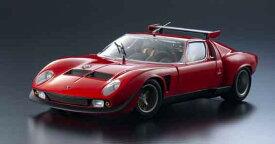 Kyosho 京商 1/18 ミニカー ダイキャストモデル 1968年モデル ランボルギーニ ミウラ SVR レッド1968 Lamborghini Miura SVR, red 1:18 Kyosho