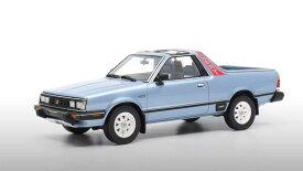 DNA Collectibles 1/18 ミニカー レジン・プロポーションモデル 1986年モデル スバル SUBARU - BRAT 2-SERIES LIGHT BLUE MET ライトブルーメタリック