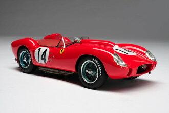 Amalgam Collection 1:18스케일 레진・프로포션 모델 1958년 르망 24시간 페라리 250 TR No. 14 Rosso Corsa 레드 Lemans 1958 Ferrari 250 TR 1/18 by Amalgam Collection NEW