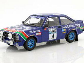 Minichamps mini-champs 1/18 minicar die-casting model 1978 Lombard RAC  rally Ford RS 1800 No  4 FORD RS 1800 EATON YALE MIKKOLA/HERTZ WINNERS  LOMBARD