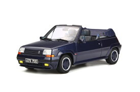 OttOmobile 1:18 1990年モデル ルノー 5 GT Turbo カブリオ ブルー1990 Renault 5 GT Turbo Cabriolet by EBS 1/18 Bleu Sport Nacre by OttOmoble NEW