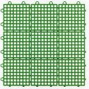 【ジョイント式床材】システムスクエアSQ-301グリーン(約30x30cm,30枚入り1カートン)【送料無料】