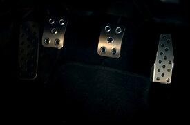 ダックスガーデン製ダイハツ L880K コペンMT専用設計 アルミペダルセット+KTCドライバー 02P01Mar15 532P26Feb16 アルミペダル