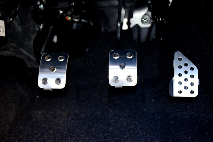コペン ローブ400K専用設計 MTアルミペダルセット アルミペダル プラスKTCドライバー付き