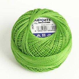刺繍 DIY 手芸 ハンガリー カロチャ 黄緑 みどり ライトグリーン 明るい緑 ハンガリー刺しゅう カロチャ刺繍 マチョーにも 7118