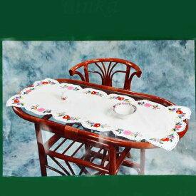 【本州・四国・九州は送料無料!】 刺繍セット DIY 自分で出来る テーブルクロス 伝統 ハンガリー カロチャ