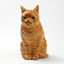 猫の花瓶Vincent Flower Vase イギリス Quail Ceramics(クウェイル・セラミックス) 動物 置物 オブジェ インテリア 北欧 モダン 磁器製 ネコ好き にゃんこ