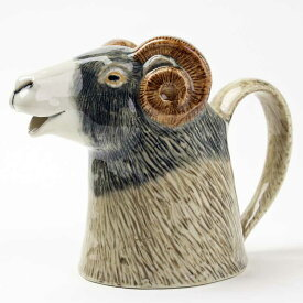 Swaledale sheep Jug イギリス Quail Ceramics 動物 置物 オブジェ インテリア 水差し 磁器製 ひつじ 花瓶 羊