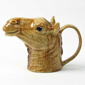Camel Jug イギリス Quail Ceramics 水差し 動物 置物 オブジェ インテリア 磁器製 らくだ ラクダ 花瓶