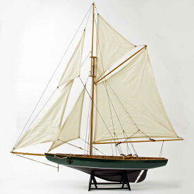 Sailing Yacht(green)の模型 ドイツ・Seaclub(シークラブ) マリン マリンテイスト ビーチ 日本ではレア