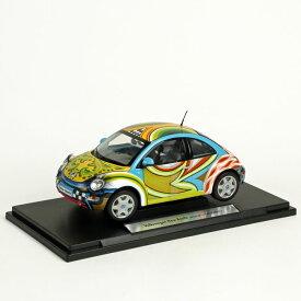 【1台限定!】TOMS Drag・ニュービートルミニカー【1:18スケール】 Volkswagen VW Club artists collection ドイツ・フォルクスワーゲン社とのコラボ WELLY 日本ではレア