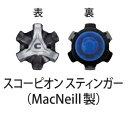 【ダンロップ】ソフトスパイク鋲(スコーピオン スティンガースパイクス/トライロック取付方式) GGS-FZ254(14個入り)【アシックス】