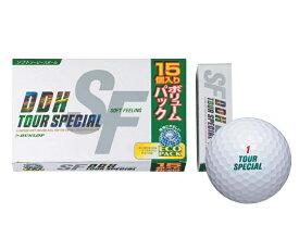 【ダンロップ】ゴルフボール DDH TOUR SPECIAL SF(ツアースペシャルSF) 1ダース(15個入り)【15個お買い得パック】