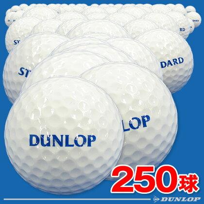 【ダンロップ】練習用ゴルフボール(レンジボール)スタンダードSF250球入り【スタンダードタイプのワンピース】