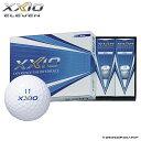 【ダンロップ】ゴルフボール XXIO ELEVEN(ゼクシオ イレブン) ホワイト 1ダース(12個入り)【オウンネーム無料…