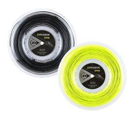 テニス【ダンロップ】DUNLOPストリング EXPLOSIVE SPIN エクスプロッシブ・スピン240m(ロールタイプ) 125/130(DST12001)