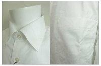 UNDEROROVER/アンダーオアオーバー2018新作シャツ81-002-WホワイトオールシーズンOK花柄長袖ドレスシャツパーティ用シャツクールビズゆったりラインアダルトシニア向き/Lサイズ