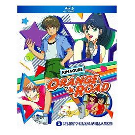 きまぐれオレンジ☆ロード 北米版ブルーレイ OVA全8話+劇場版収録 BD