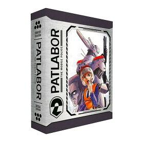 【先行予約】機動警察パトレイバー スペシャル・エディション 北米版ブルーレイ 全70話+劇場版収録 BD