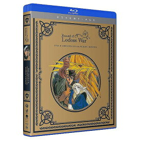 ロードス島戦記 OVA版+英雄騎士伝 Essentials 北米版DVD+ブルーレイ OVA版全13話(BD)+TV版全27話(DVD)収録 BD