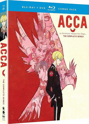 ACCA13区監察課 北米版DVD+ブルーレイ 全12話収録 BD
