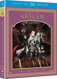 アルスラーン戦記 Part2 北米版DVD+ブルーレイ 14話〜最終25話収録 BD
