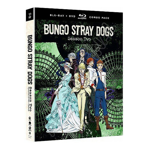 文豪ストレイドッグス 第2期 北米版DVD+ブルーレイ 全12話+OVA収録 BD