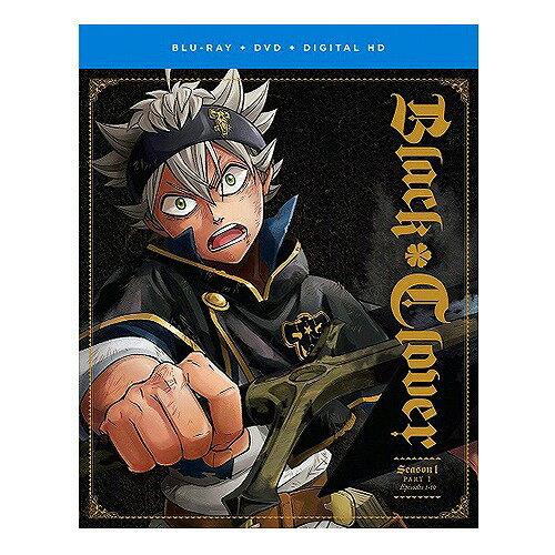 【先行予約】ブラッククローバー 第1期 Part1 北米版DVD+ブルーレイ 1〜13話収録 BD
