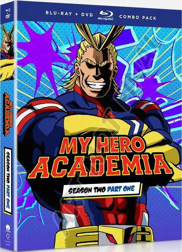 僕のヒーローアカデミア 第2期 Part1 通常版 北米版DVD+ブルーレイ 13.5話〜25話収録 BD
