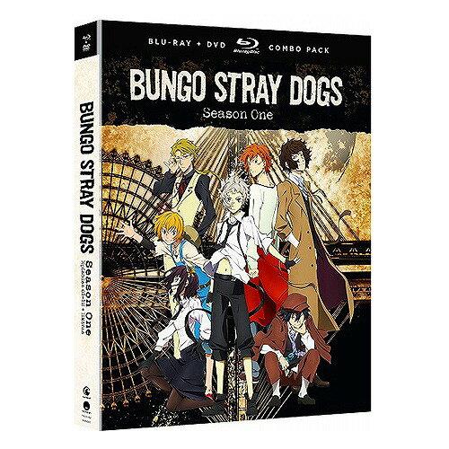 文豪ストレイドッグス 第1期 通常版 北米版DVD+ブルーレイ 全12話収録 BD