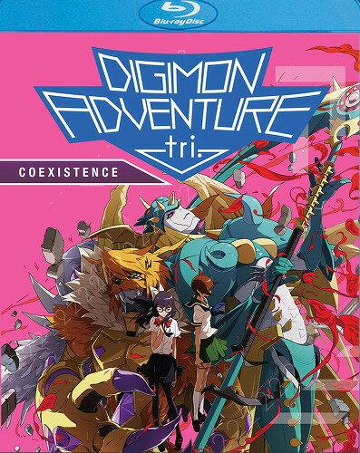 【先行予約】デジモンアドベンチャー tri. 第5章「共生」 OVA版 北米版DVD+ブルーレイ BD