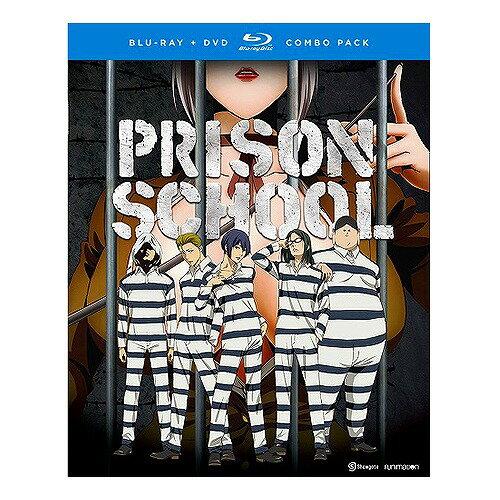 監獄学園 プリズンスクール 通常版■北米版DVD+ブルーレイ■全12話収録 BD