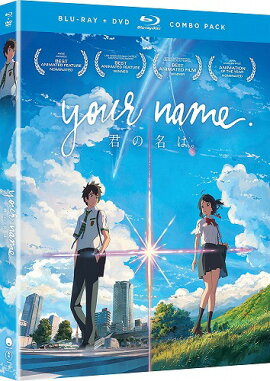 【先行予約】君の名は。北米版DVD+ブルーレイ新海誠BD