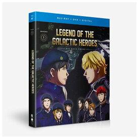 銀河英雄伝説 Die Neue These 第1期 北米版DVD+ブルーレイ 全12話収録 BD