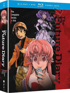 【先行予約】未来日記北米版DVD+ブルーレイ全26話+OVA収録BD